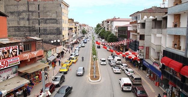 Karasu Plaj Caddesi yaza hazır