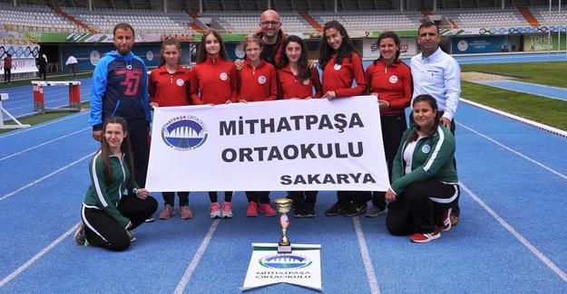 Mithatpaşa Ortaokulu Türkiye Şampiyonu