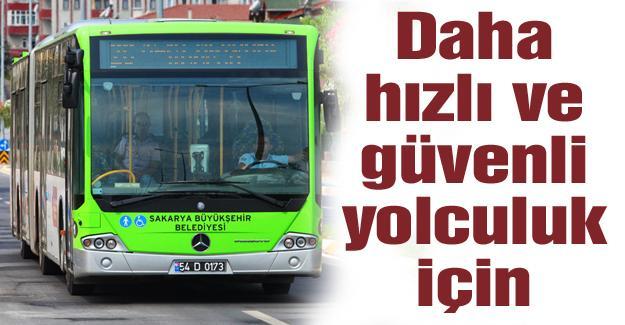 Otobüslere yeni kamera sistemi