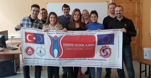 Sapancalı öğretmenler Letonya'dan döndü