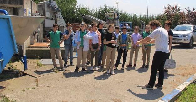SASKİ tesisleri öğrencileri ağırlıyor