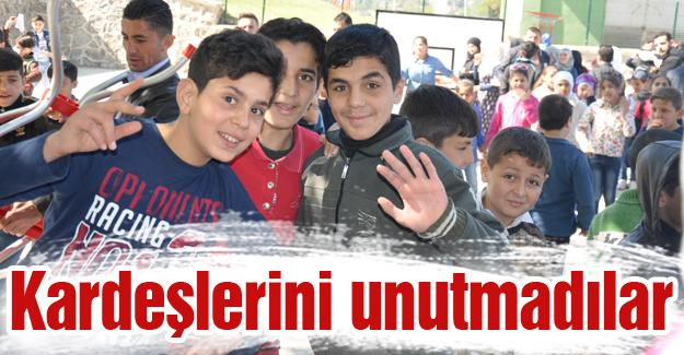 Suriyeli öğrenciler anlamlı bir programa hazırlanıyor
