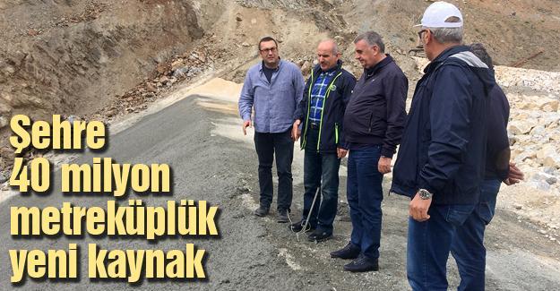 Toçoğlu Akçay barajında inceleme yaptı