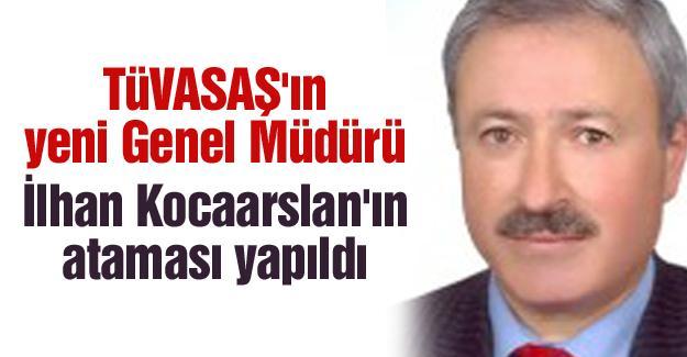 TÜVASAŞ'ın yeni Genel Müdürü  İlhan Kocaarslan'ın ataması yapıldı
