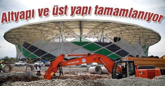 Yeni stada Büyükşehir imzası