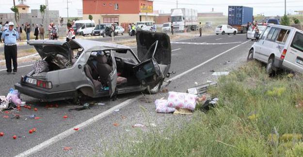 369 trafik kazasında 1 kişi hayatını kaybetti