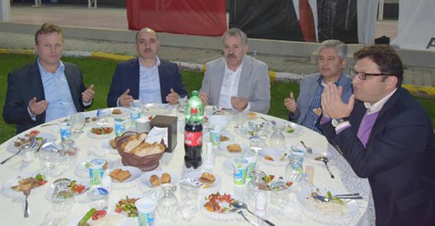 AK Parti'nin ikinci iftarı Söğütlü'de yapıldı
