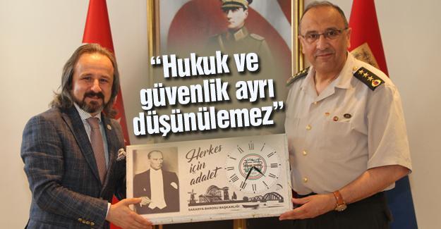Baro Başkanından Jandarmaya kutlama ziyareti