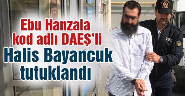 Ebu Hanzala kod adlı DAEŞ'li Halis Bayancuk tutuklandı
