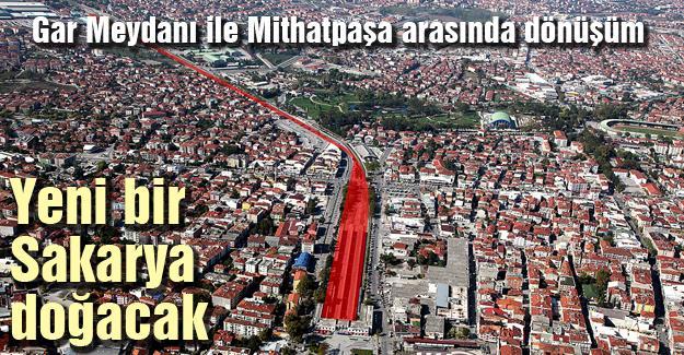 Gar Meydanı ile Mithatpaşa arasında dönüşüm