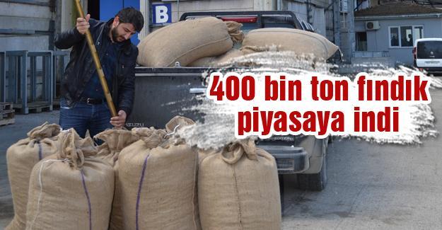 Sakarya'dan 180 bin ton fındık satıldı