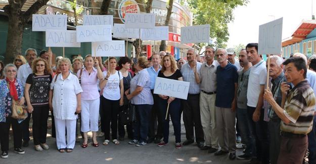 Sakarya'dan 'Adalet Yürüyüşüne' destek
