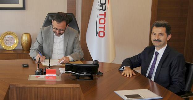 Spor Toto ile protokol imzalandı