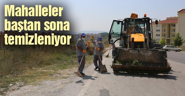 Adapazarı Belediyesinden genel temizlik