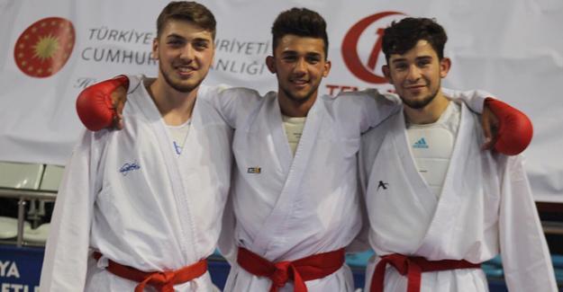 Karate'de bir büyük başarı daha