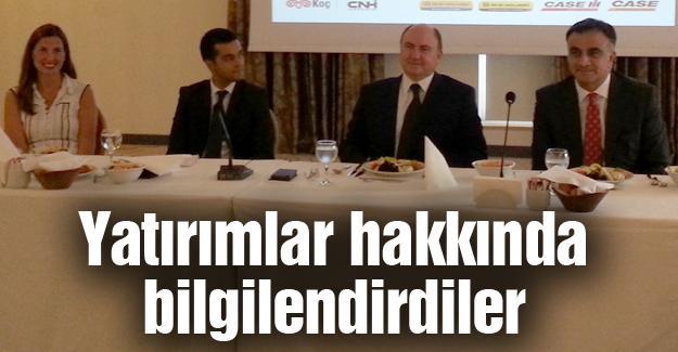 Türk Traktör yöneticileri basınla buluştu