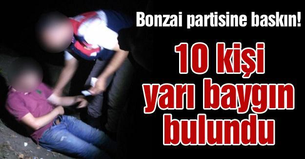 Bonzai partisine baskın!