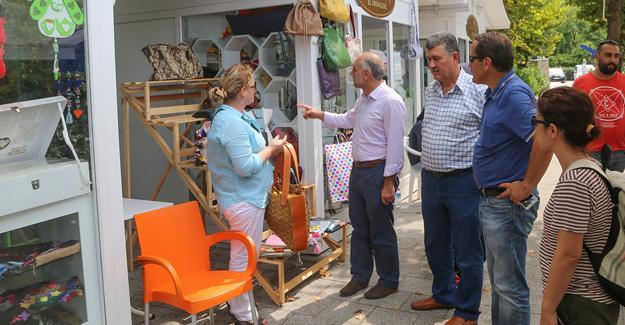Eyüp Belediyesi Sapanca'ya hayran kaldı