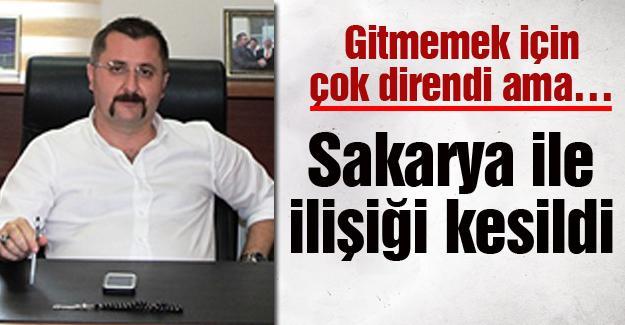 Orhan Demirel'in Sakarya ile ilişiği kesildi