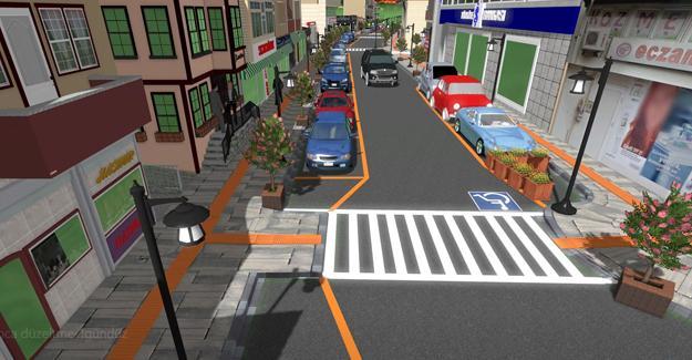 Sapanca'nın caddeleri prestij kazanıyor