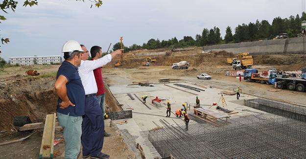 Sapanca'nın yeni 5 yıldızlı otel inşaatı hızla ilerliyor