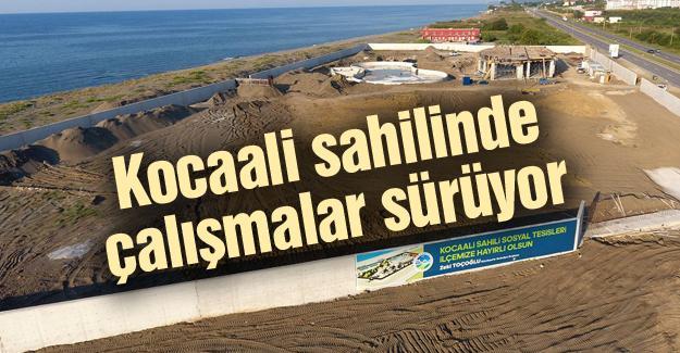 Sosyal tesislerin yapımı devam ediyor
