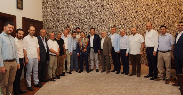Yerel Kültür Derneği'nden Vali Balkanlıoğlu'na ziyaret