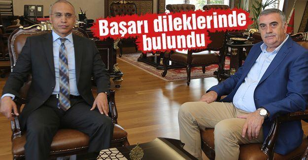 Başkan Toçoğlu'ndan Emniyet Müdürü Kaya'ya ziyaret