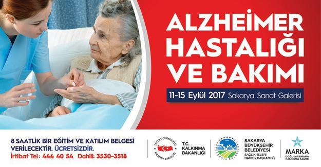 Galeri'de konu 'Alzheimer' olacak