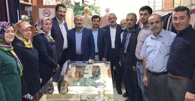 Milletvekili Yavuz Hendek'te ziyaretlerde bulundu