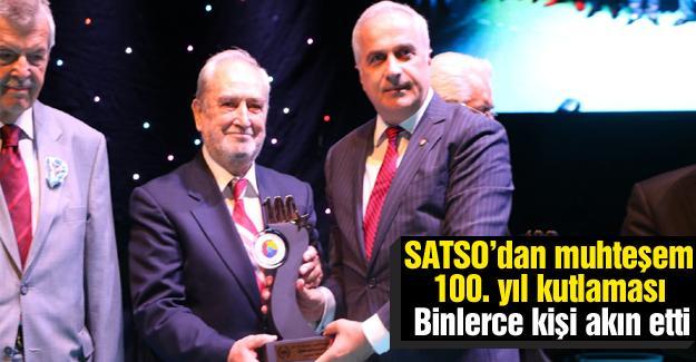 SATSO'dan muhteşem 100. yıl kutlaması