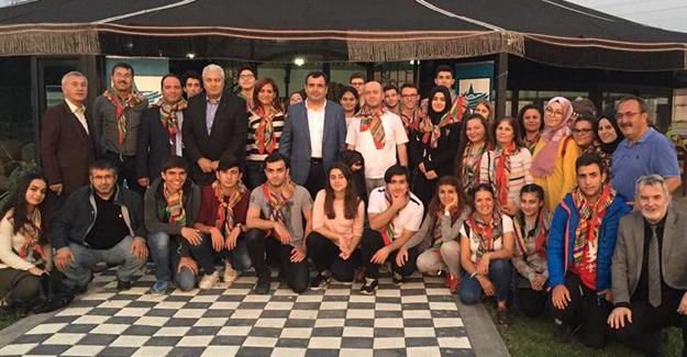 Kıbrıslı öğrenciler SYKD Otağı'nda ağırlandı