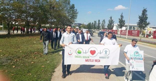 Sakarya, 'Dünya Yürüyüş Günü' için yürüdü