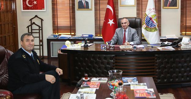 Sapanca İlçe Emniyet Müdürü Alan'dan Başkan Yılmazer'e Ziyaret
