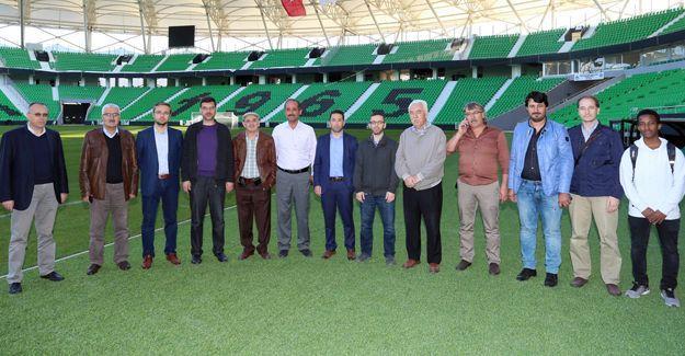 SATSO 10. Meslek komitesi yeni stadyumu inceledi