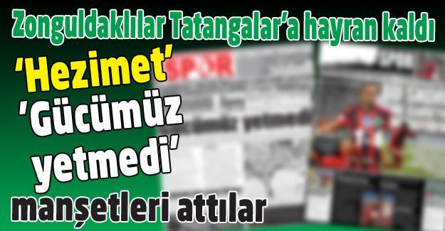Zonguldaklılar Tatangalar'a hayran kaldı