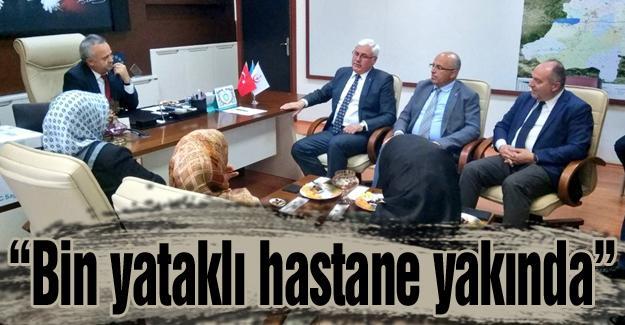 AK Parti Adapazarı İlçe Teşkilatından Öğütlü'ye ziyaret