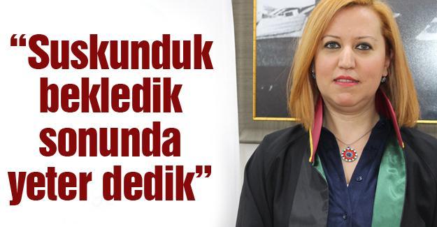 Av. Turgut kadına şiddeti eleştirdi