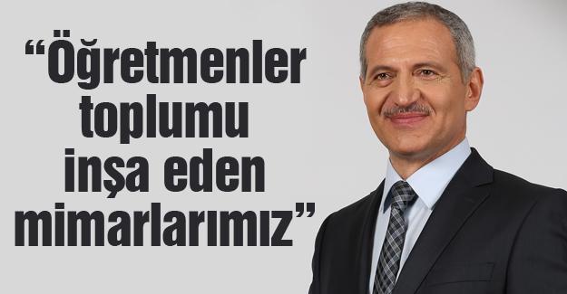Başkan Dişli'den Öğretmenler Günü mesajı