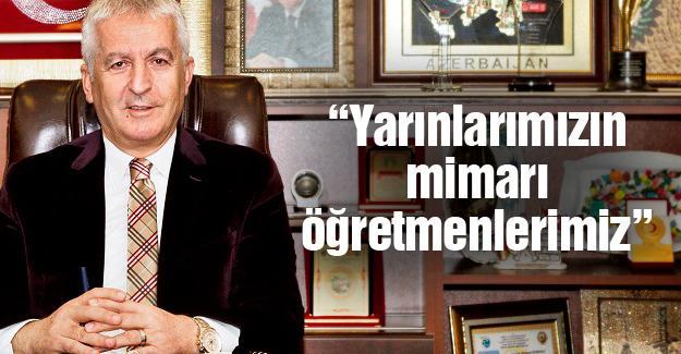 Başkan İspiroğlu'ndan 24 Kasım mesajı