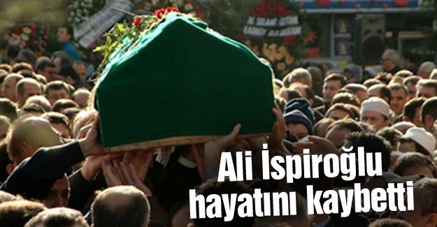 Cenazesi öğlen kaldırıldı