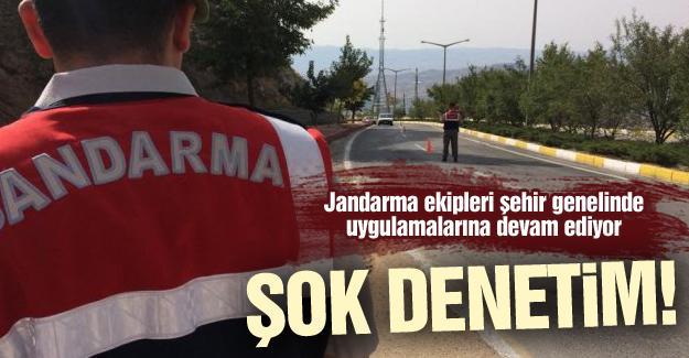 Jandarma'dan şok denetim!