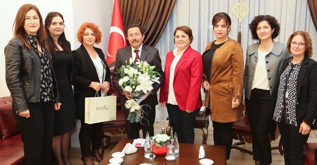 Kadın Girişimciler Kurulu Balkanlıoğlu'nu ziyaret etti