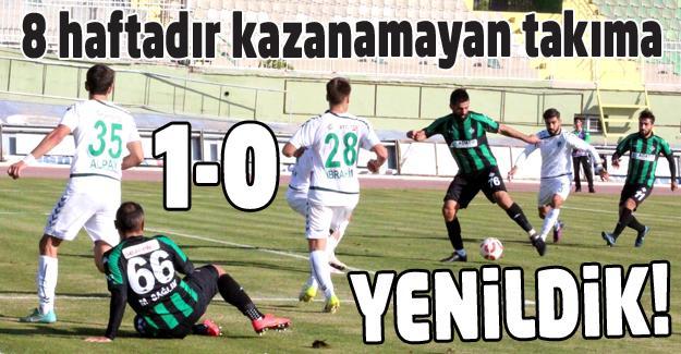 Konya'da futbol rezaleti! 1-0