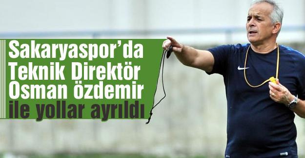 Osman Özdemir ile yollar ayrıldı