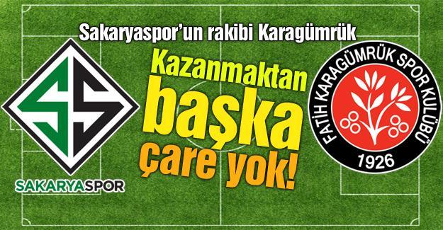 Sakaryaspor'dan tek gollü galibiyet! 1-0