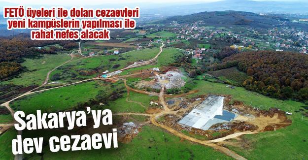 Sakarya'ya dev cezaevi