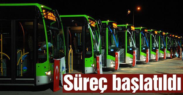 Şehir içi ulaşımına 20 yeni otobüs