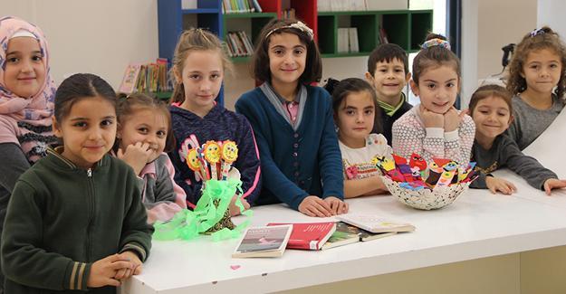 SGM'li minikler Dünya Çocuk Kitapları Haftası'nı kutladı
