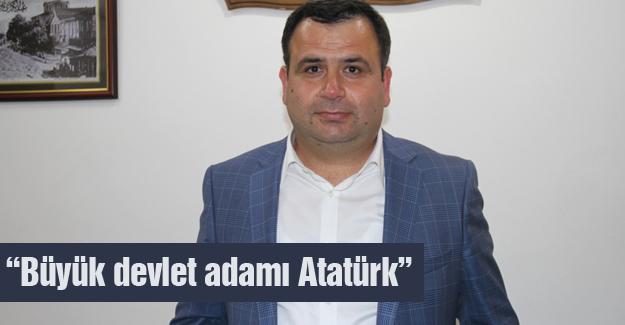 SYKD Başkanı Kırık'tan 10 Kasım mesajı